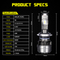 Beautiful Pattern Canbus Auto Lamp H7 Car LED Bulb